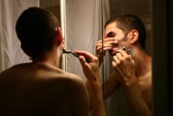 Повреждение кожи при бритье