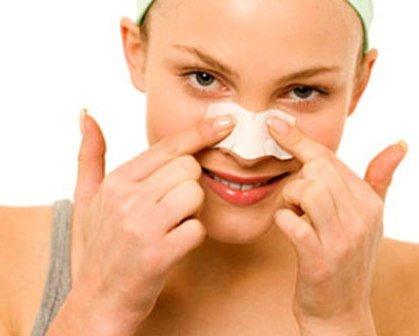 Можно ли быстро удалить черные точки в области носа?