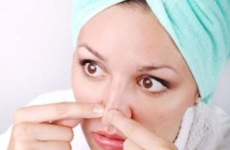 Как предупредить появление прыщей на носу