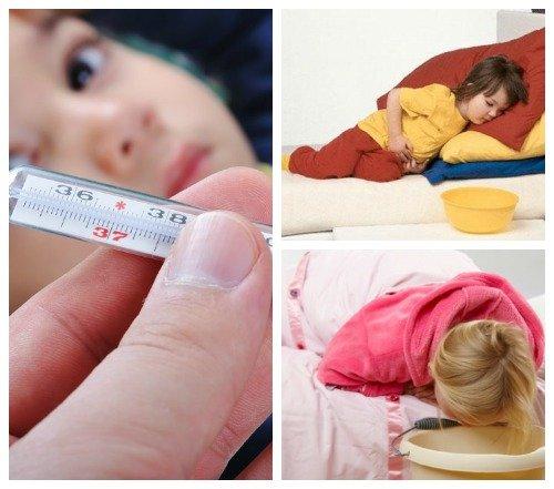 Клинические признаки кишечного гриппа