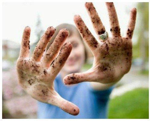 Грязные руки – источник паразитов