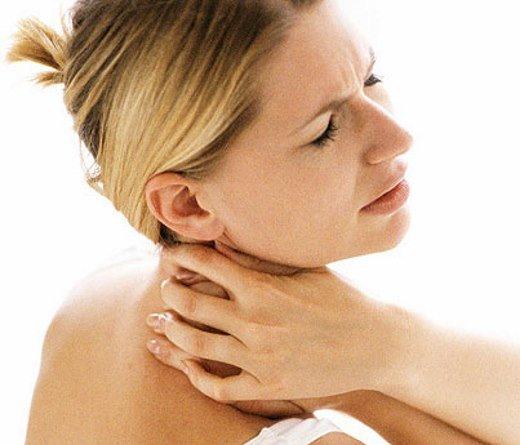 Боль в области шее при остеохондрозе шейного отдела