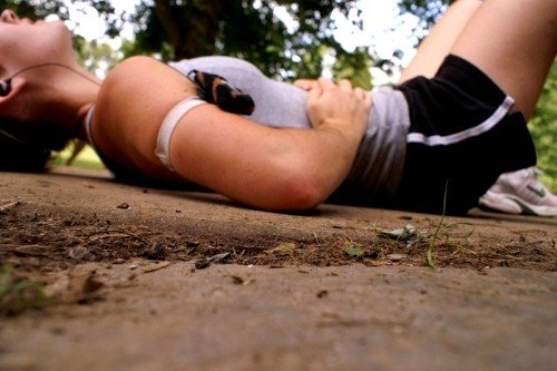 Колющие боли при усиленной нагрузке