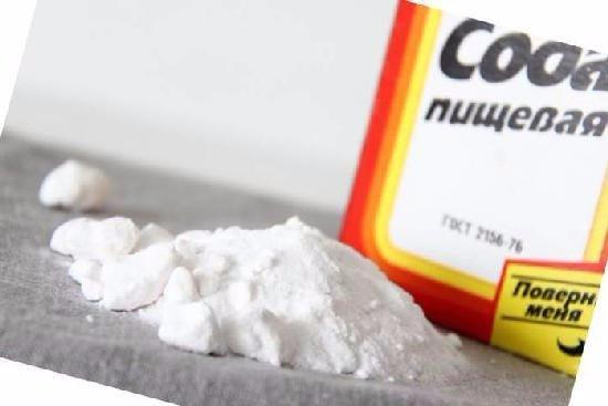 Сода для лечения грибка на ногтях