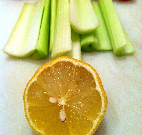 Лимонно-сельдерейное лекарство