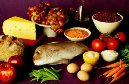 Полезные продукты для диеты при гастрите