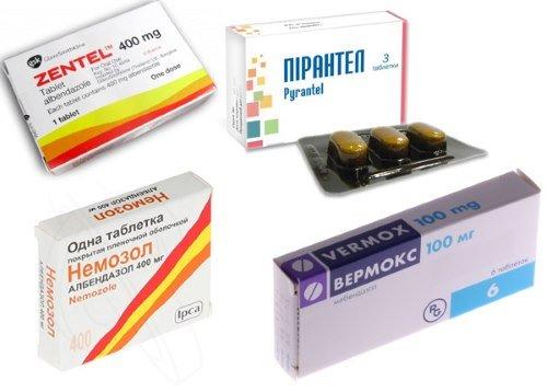 Противогельминтные препараты имеют разный механизм действия