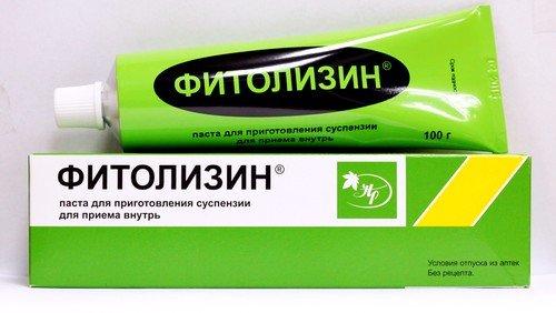 Фитолизин при лечении цистита