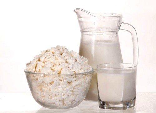 Творог, кисломолочные продукты