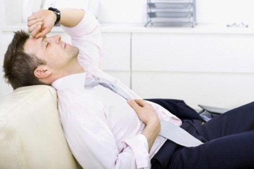 Повышенная усталость – признак сахарного диабета у мужчин