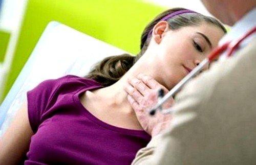 Осложнения при узловом зобе щитовидной железы