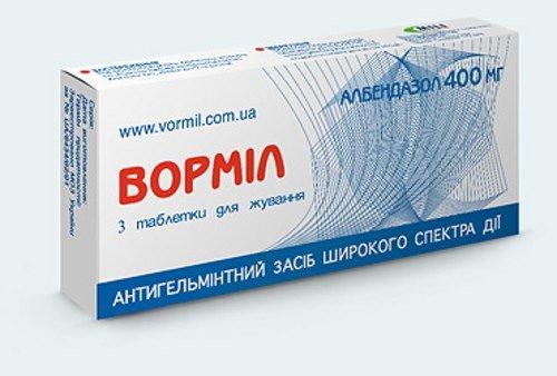 Вормил – эффективный антипаразитарный препарат
