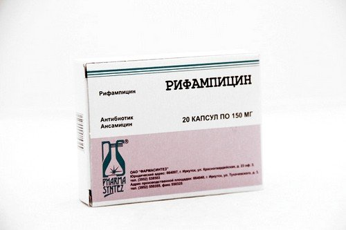 рифампицин при туберкулезе