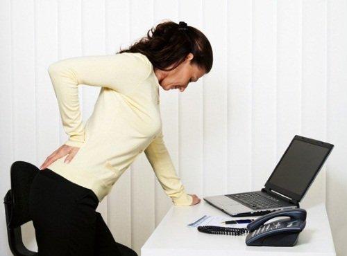Малоподвижный образ жизни ведет к развитию остеохондроза