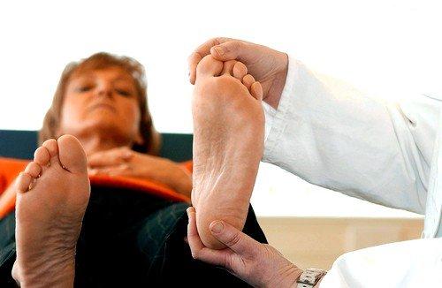 Последствия при подагре ноги