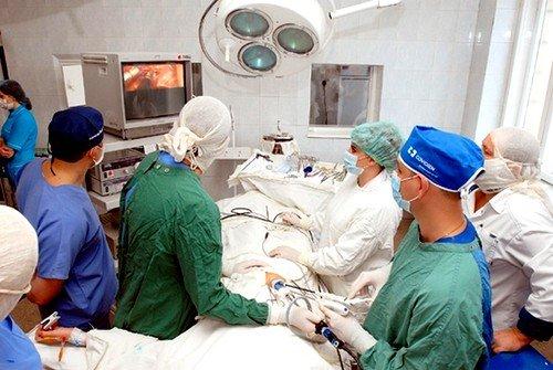 Операция по удалению кисты яичника