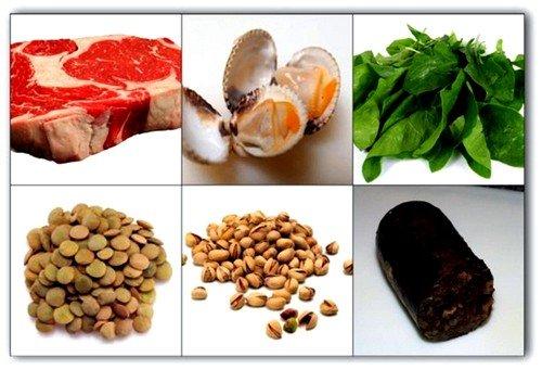 продукты повышающие гемоглобин при беременности