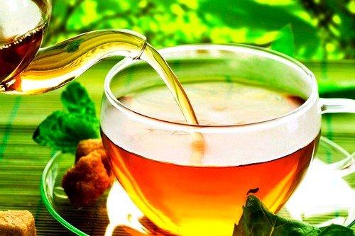 Чай с имбирем при боли в желудке