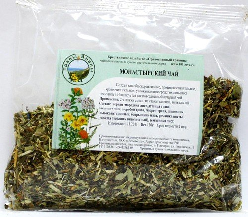 Купить монастырской чай можно на сайте производителя