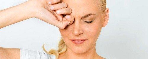 Мигрень как причина боли в глазах
