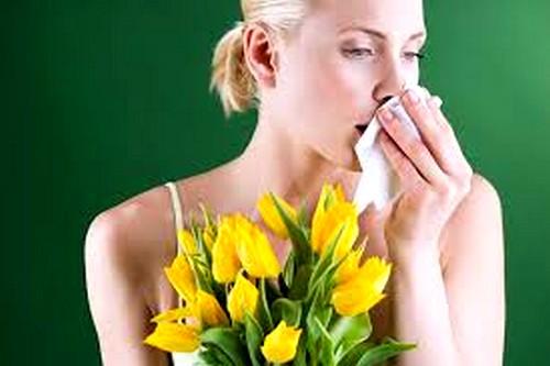 Причиной покраснения может быть аллергия