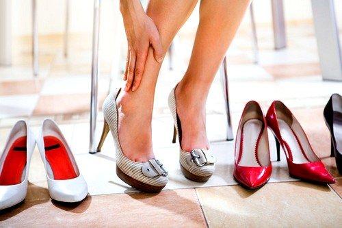 отказ от слишком высоких каблуков