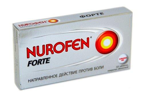 Нурофен при растяжении связок