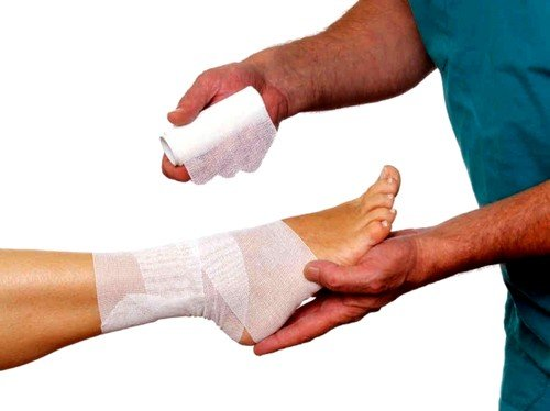 Первая помощь при данной травме