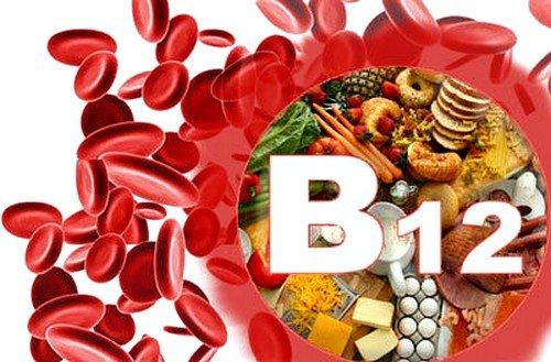 Недостаток витамина В12