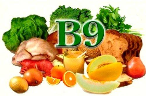 Нехватка витамина В9