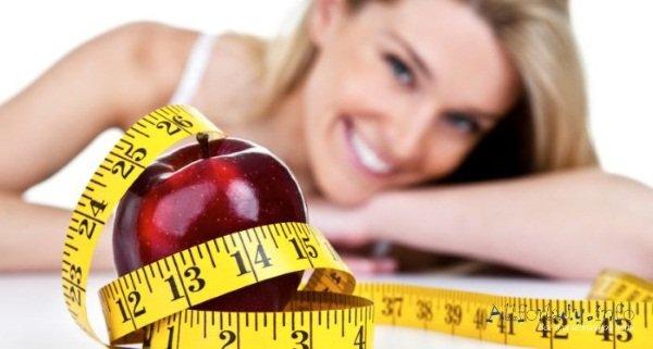 Правильное питания – залог успешного похудания