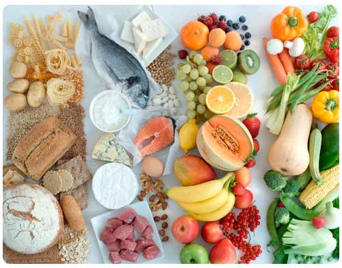 Продукты богатые питательными веществами