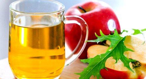 Полоскание яблочным уксусом