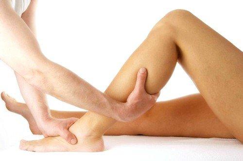 Массаж ног при судорогах