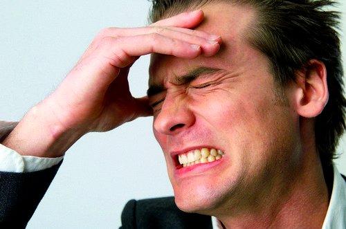 Главный признак фронтита - сильнейшие болевые ощущения в голове