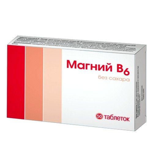 Магний В6 в таблетках