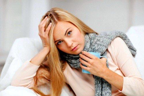 Больное горло при беременности