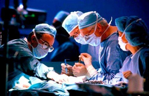 Хирургическое лечение опухоли