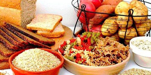 Необходимо соблюдение диеты, содержащей большое количество углеводов