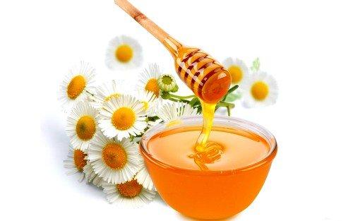 Отвар ромашки с медом
