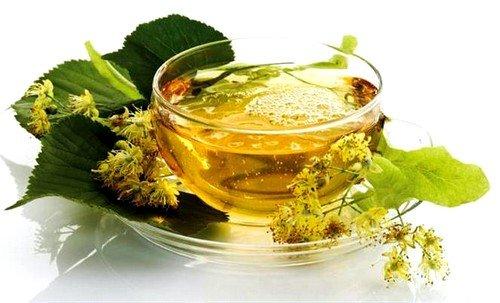 Обязательно нужно пить чай с липой и мятой
