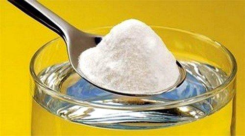 Сода при боли в колене