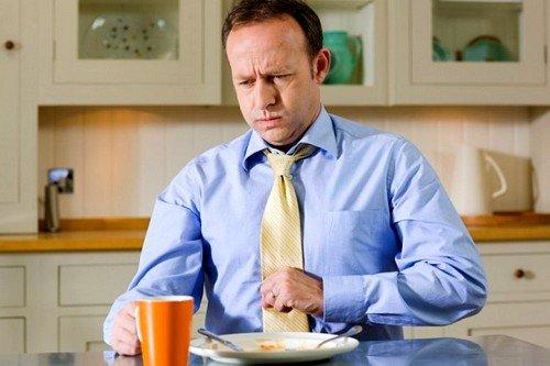 острые приступы желчной колики - симптом хронического калькулёзного холецистита