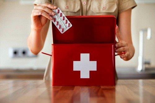 Лекарства следует хранить в месте, недоступном для детей