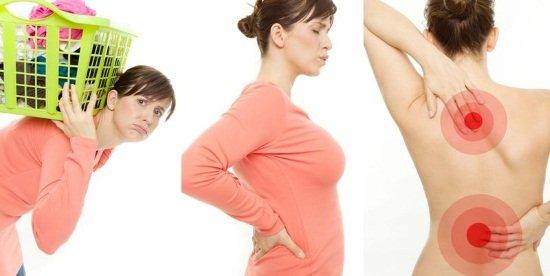 Физические нагрузки ведут к развитию поясничных болей