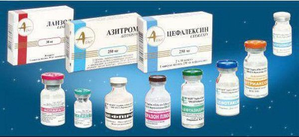 Антибиотики для лечения воспалительных процессов в придатках