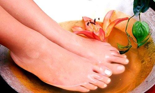 эффективными считаются ванны для ног
