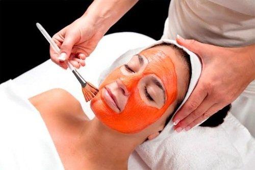 Правильное применение морковных масок