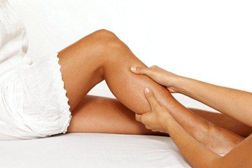 Массаж при судорогах икр ног