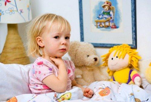 Фарингит у детей появляется в сущности в прохладную пору года